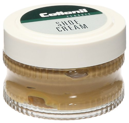 Collonil Cream Polish for Smooth Leather Shoes Boots Handbags (Naturell)