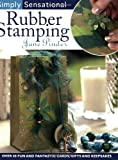 Simply Sensational Rubber Stamping, Jane Pinder, 0715323288