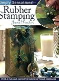 Simply Sensational Rubber Stamping, Jane Pinder, 0715323288