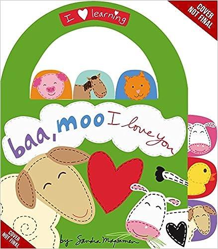 PDFs Gratis Disponibles Para Descargar «Baa, Moo, I Love You!: A Book Of Animal Sounds»