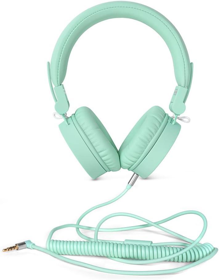 Fresh'n Rebel 156301 - Auriculares clásicos, color menta