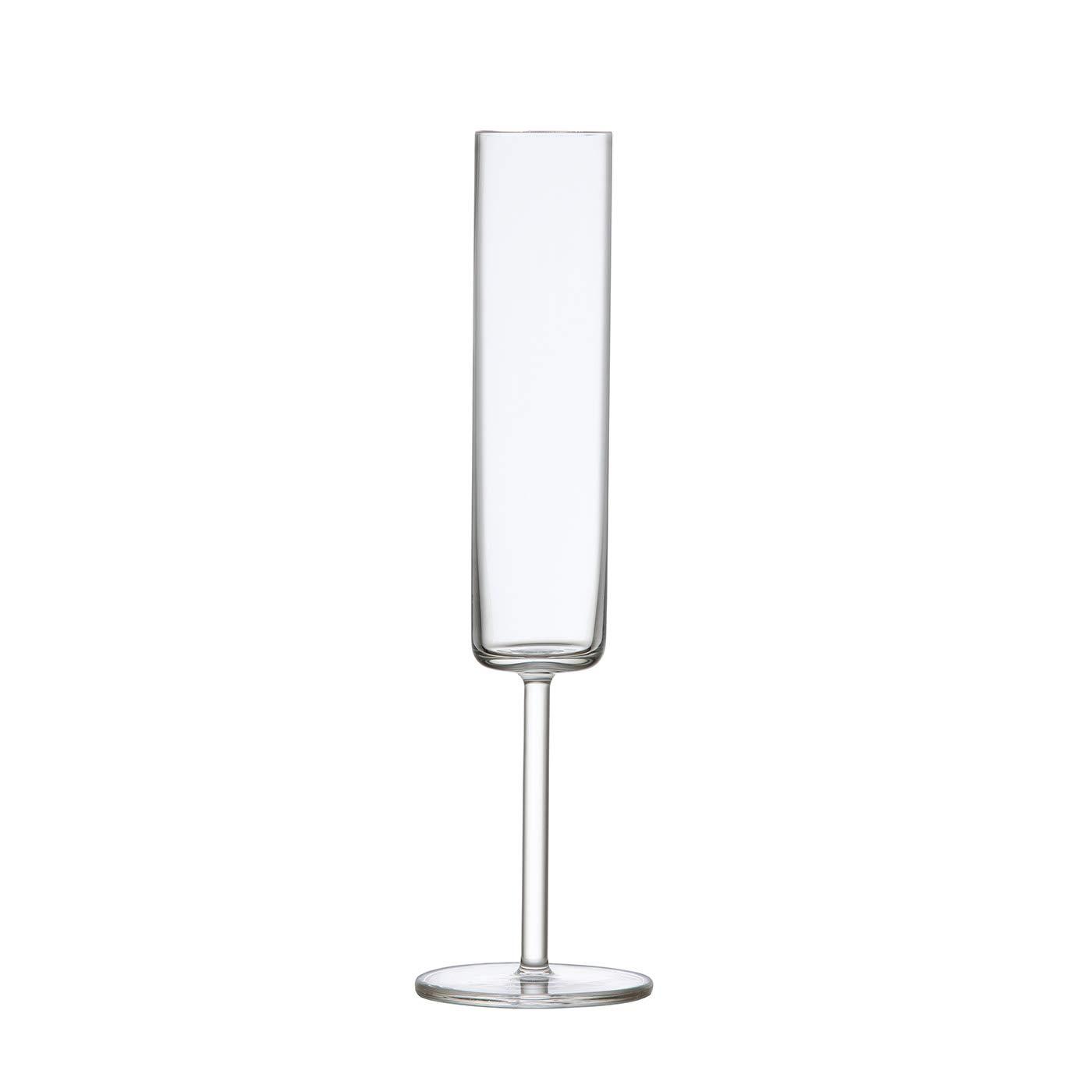Schott Zwiesel Modo Tritan Crystal Champagne Flute, 5.5oz, Set of 4