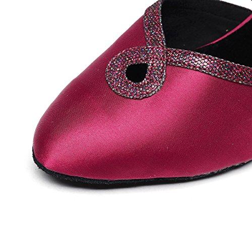 Minitoo de Red Salon Danse Rouge Heel 6cm femme zTwrzZ5q