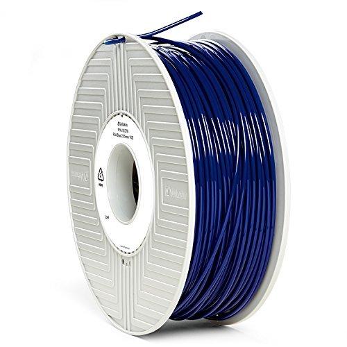 Verbatim Bobine de Filament en PLA plastique 3 mm 1 kg Bleu