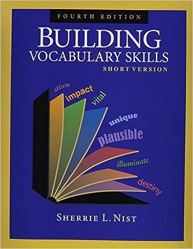 Building Vocabulary Skills Short Version