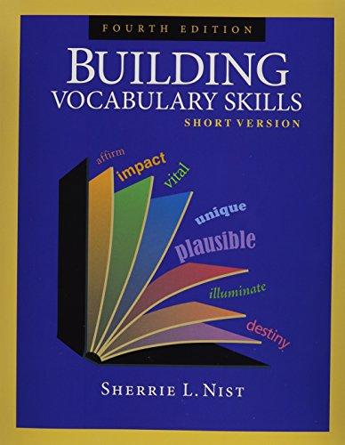 Building Vocabulary Skills: Short Version