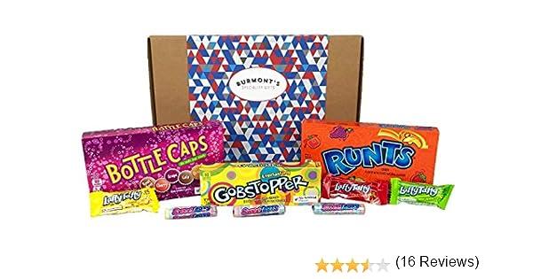 Caja De Regalo Con Una Selección De Caramelos Americanos Wonka - 9 ...