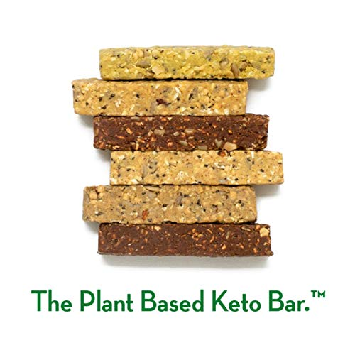 NEW! Dang Bar- KETO CERTIFIED, Low Carb, Plant Based, Gluten Free, Real Food Snack Bar, 1-3g Sugar, 4-5g Net Carbs, No Sugar Alcohols or Artificial Sweeteners, 12 Count (6 Flavor Variety Pack) by DANG (Image #4)