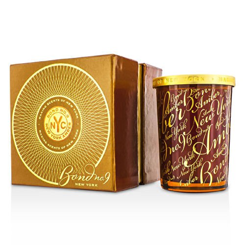 Bond No. 9 Scented Candle - New York Amber 180g/6.4oz by bond no. 9 new york