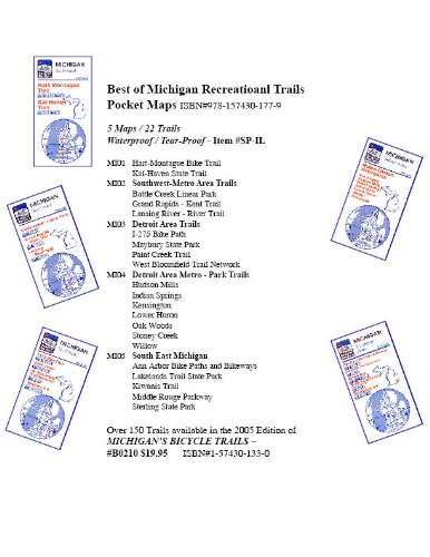 Best of Michigan Recreational Trails Pocket Maps