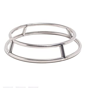 Wok Ring/Stainless Steel Wok Rack Insulated Pot Mats Cookware Ring/Wok accessories