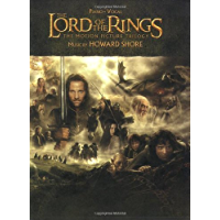 The Lord of the Rings Trilogy: Music from the Motion Pictures Arranged for Solo Piano book cover