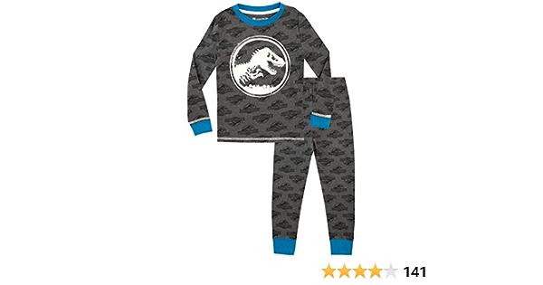 Jurassic World Pijama para Niños - Brilla en la Oscuridad ...
