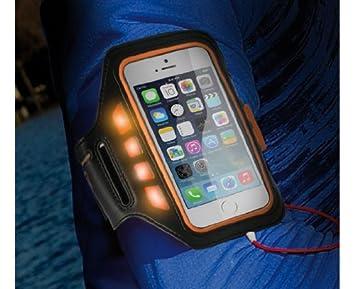 Ksix by Jose Hermida - Brazalete Porta Smartphone Con Leds: Amazon ...