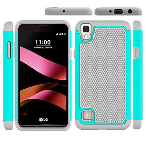 LG Tribute HD Case, LG X Style Case, Beimu 2in1 PC+Silicon Shockproof Hybrid High Impact Armor Defender Cover For LG X style / Tribute HD / Volt 3 / LS676