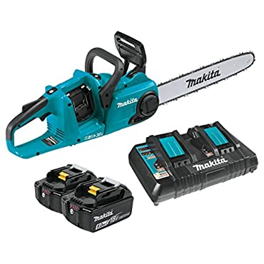 Makita XCU04PT Lithium-Ion Brushless Cordless 16 Chain Saw Kit