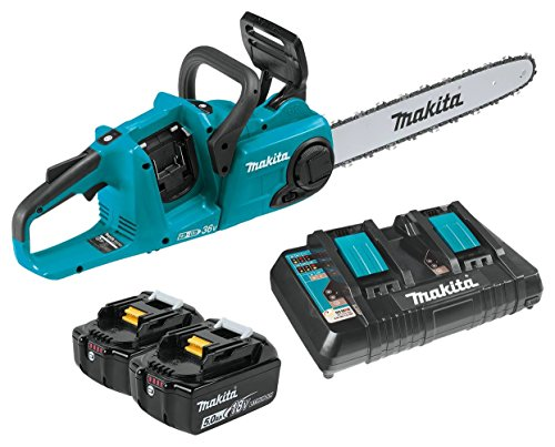 Makita XCU04PT Lithium-Ion Brushless Cordless 16'' Chain Saw Kit by Makita