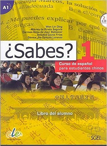 Descarga gratuita ¿sabes? 1 Alumno: Curso De Español Para Estudiantes Chinos PDF