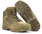 RYNO GEAR 6' Coolmax Tactical Combat Boots (Coyote, 8)