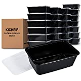 #9: Meal Prep Containers, [25 pack] Reusable 1 Compartment Food Prep Containers, Food Storage Containers with Lids, Food Containers Meal Prep - BPA Free, Stackable/Microwave/Freezer Safe (26oz)
