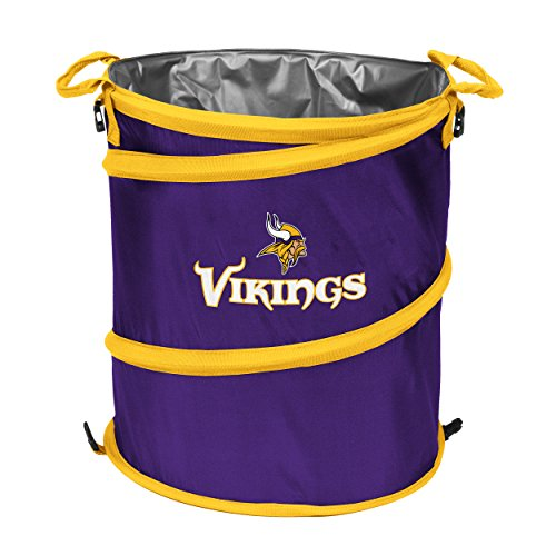 Logo Brands NFL Minnesota Vikings 3-in-1 Cooler