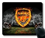 Football Logo Arsenal Mouse Pad/Mouse Mat Rectangle by ieasycenter by Rectangle Mousepad (Football Logo)