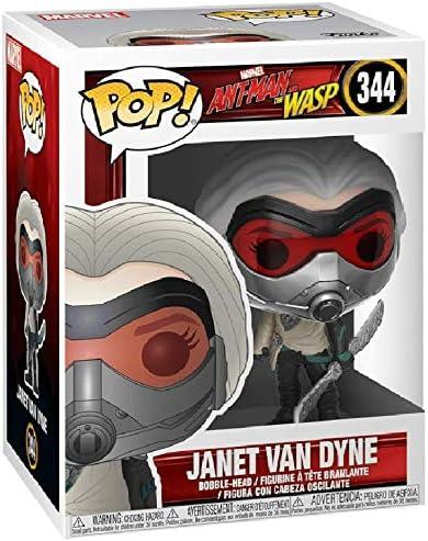 Marvel Vinyl Figure /& 1 POP Funko Hank Pym: Ant-Man and The Wasp x POP Compatible PET Plastic Graphical Protector Bundle #343 // 30800 - B