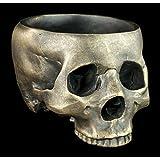 Totenkopf Schale ohne Schädeldecke - Gothic Deko Schädel Skull Totenschädel Figur