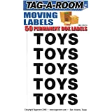 Tag-A-Room Box Content Moving Label (Toys)