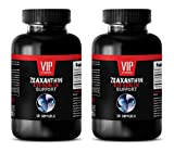 supplements for vision - ZEAXANTHIN (EYE HEALTH SUPPORT) - antioxidant pills - 2 Bottles 100 Softgels