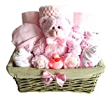 Baby Gift Basket, Gift for New Baby, Baby Shower Gift, Pink, Blue, Neutral. Christmas Gift for Baby.
