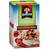 Quaker Instant Oatmeal Weight Control Maple & Brown Sugar - 8 CT