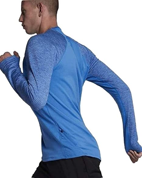 Nike Sphere - Camiseta de Running para Hombre, Color Azul, XXL-56 ...