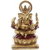 Puckator GAN06 Red Ganesh Statue - 14 cm