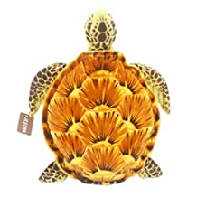"""Jesonn Realistic Soft Stuffed Marine Animals Plush Toy Turtle for Kids' Pillow and Gifts,Brown,20"""" or 50CM,1PC"""