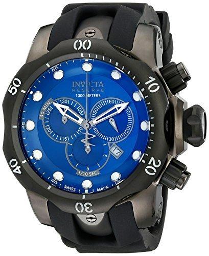 Invicta Men's F0003 Reserve Collection Venom Chronograph Gunmetal Ion-Plated Watch