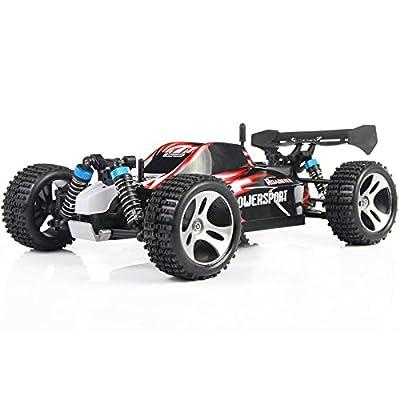 elegantstunning RC Mini Car WLtoys A959 2.4G 1/18 Scale Remote Control Off-Road Racing Car SUV Toy Gift Boy
