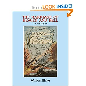The Marriage of Heaven and Hell: A Facsimile in Full Color (Dover Fine Art, History of Art) William Blake