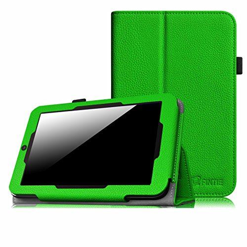 "Fintie Winbook TW700 Tablet Case - Premium PU Leather Slim Fit Folio Stand Cover with Stylus Loop for Winbook TW700 7"" Windows 8.1 Tablet, Green"