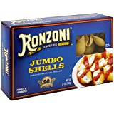 Ronzoni Jumbo Shells, 12-Ounce Boxes (Pack of 12)