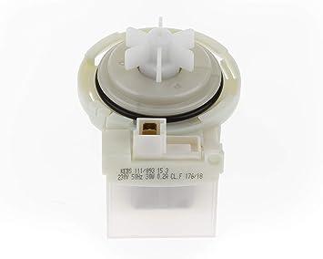 ALL4SALE - Motor bomba desagüe para lavadora - KEBS111/093: Amazon ...