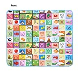 Wakrays New Baby Kid Toddler Crawl Play Game Letter Alphabet Mat Carpet Picnic 180*150CM