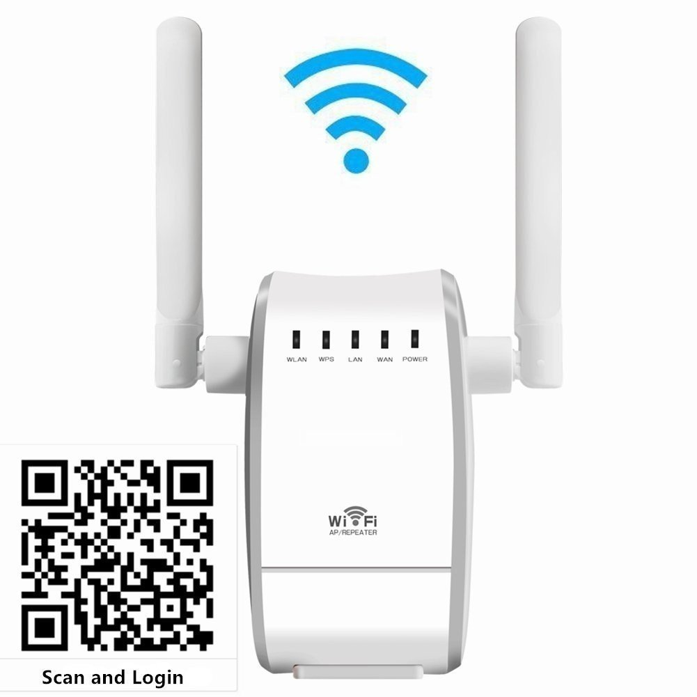 DHMXDC Wireless-N 300Mbps WiFi Range Extender Wireless Router/Repeater/AP/Wps Mini Dual External Antennas Wireless Booster Signal Wireless Access Point by DHMXDC (Image #7)