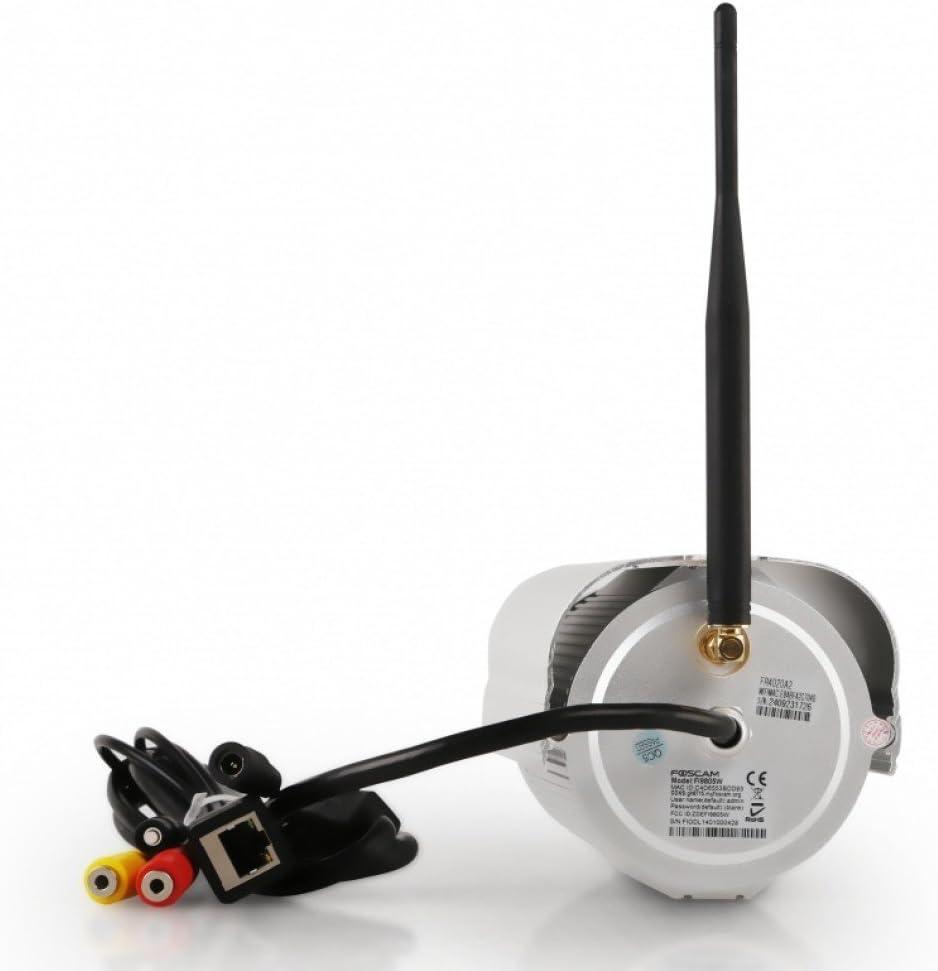 Foscam FI9805W - Cámara IP de vigilancia 960p, 1.3 MP, H264, WiFi, de Exterior, 70°, visión Nocturna 30 m, 7 W