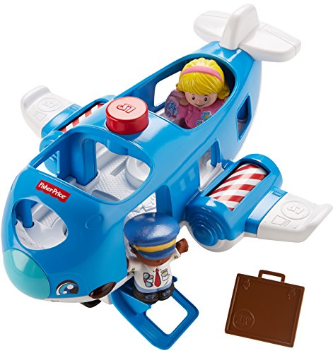 516g5omdQgL - Fisher-Price Little People Travel Together Airplane Vehicle