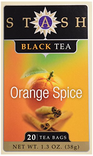 Stash Orange Spice Black Tea, Tea, 20 ct ()