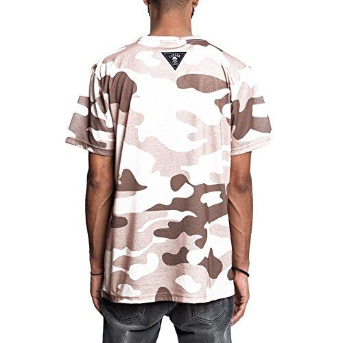 Cayler & Sons T-Shirt – C&S Wl Pacasso grün/braun/mehrfarbig Größe: XL (X-Large)