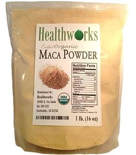 HealthWorks Raw Organic Maca Powder 16oz/1lb (B001XS1ZEI)   Amazon price tracker / tracking, Amazon price history charts, Amazon price watches, Amazon price drop alerts