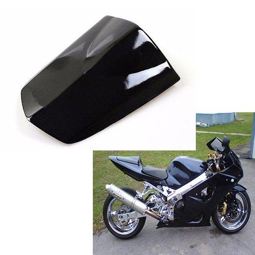 Fatexpressmotorcycle Gloss nero ABS posteriore passeggero sellino Coprisella coperchio motore coda carenatura copertura per 2003/ /2004/Suzuki Gsxr 1000/GSXR1000/K3/03/ /04