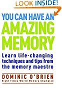 #9: You Can Have an Amazing Memory: Learn Life-Changing Techniques and Tips from the Memory Maestro
